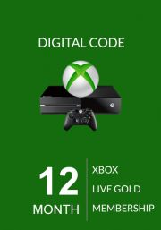 Xbox Live Gold 12 Kuu Liikmeaeg (Global)