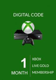 Xbox Live Gold 1 Kuu Liikmeaeg (Global)