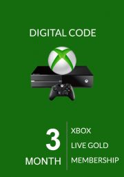 Xbox Live Gold 3 Kuu Liikmeaeg (Global)
