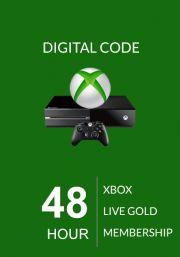 Xbox Live Gold 48 Tunnine Liikmeaeg (Global)