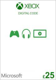 UK Xbox 25 Nael Kinkekaart