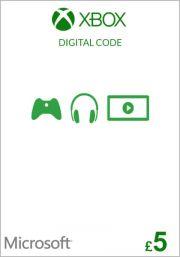 UK Xbox 5 Nael Kinkekaart