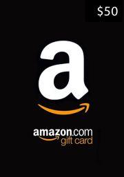 USA Amazon $50 Kinkekaart