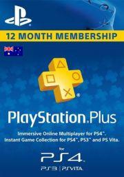 Austraalia PSN Plus 12-Kuu Liikmeaeg