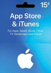 iTunes Saksamaa 15 EUR Kinkekaart