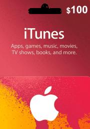 iTunes USA 100 USD Kinkekaart