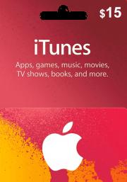 iTunes USA 15 USD Kinkekaart