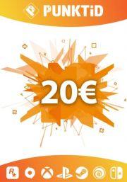 Punktid 20€ Kinkekaart