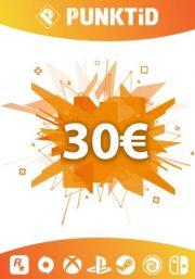 Punktid 30€ Kinkekaart