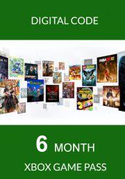 Xbox Game Pass 6 Kuu Liikmeaeg